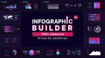 پروژه افترافکت ساخت اینفوگرافیک Infographic Builder