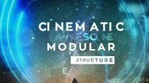 پروژه افترافکت اسلایدشو سینمایی Inspired Cinematic Slideshow