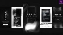 پروژه پریمیر مجموعه استوری اینستاگرام Instagram Dynamic Stories