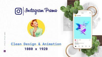 پروژه افترافکت تیزر تبلیغاتی اینستاگرام Instagram Promotion