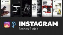 پروژه افترافکت استوری اینستاگرام Instagram Stories Slides Vol 4