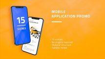 پروژه افترافکت تیزر تبلیغاتی اپلیکیشن Mobile Application Promo