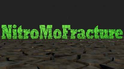 پلاگین سینمافوردی NitroMoFracture ابزار ایجاد شکستگی در آبجکت