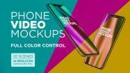 پروژه افترافکت مجموعه موکاپ موبایل Phone Video Mockups 1