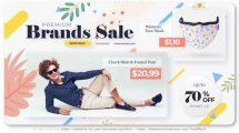 پروژه افترافکت تیزر تبلیغاتی فروش ویژه Premium Brands Sale