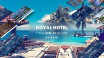 پروژه افترافکت پرزنتیشن هتل Royal Hotel Presentation