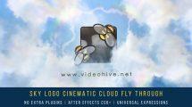 پروژه افترافکت نمایش لوگو سینمایی Sky Logo Cinematic