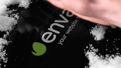 پروژه افترافکت تیزر نمایش لوگو زیر برف Snow and Hand Opener