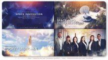 پروژه افترافکت پرزنتیشن صنعت فضایی Space Innovation Presentation