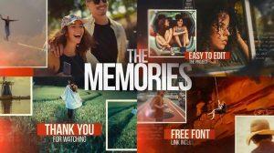 پروژه افترافکت اسلایدشو سینمایی The Memories Cinematic Slideshow