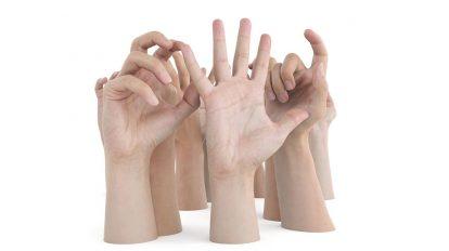 مجموعه مدل سه بعدی دستان مرد Ultimate Male Hands Pack
