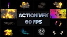 پروژه افترافکت مجموعه المان برای جلوه های ویژه VFX Elements