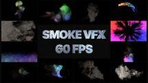 پروژه افترافکت مجموعه افکت دود VFX Smoke Pack