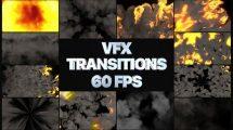 پروژه افترافکت مجموعه ترانزیشن VFX Transitions