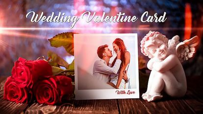 پروژه افترافکت ولنتاین و عروسی Wedding Valentine Card