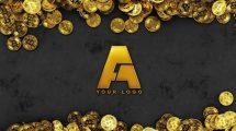 پروژه افترافکت نمایش لوگو بیت کوین Bitcoin Logo Reveal