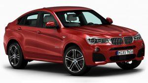 مدل سه بعدی خودرو بی ام و BMW X4
