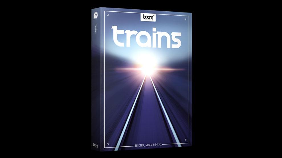 مجموعه افکت صوتی قطار Boom Library Trains