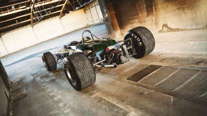 مدل سه بعدی ماشین مسابقه ای Brabham