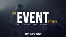 پروژه افترافکت تیزر تبلیغاتی همایش کسب و کار Business Event Promo