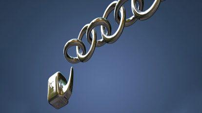 مدل سه بعدی زنجیر Chain Animated