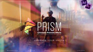 پروژه افترافکت افکت های سینمایی Prism Cinematic Effects