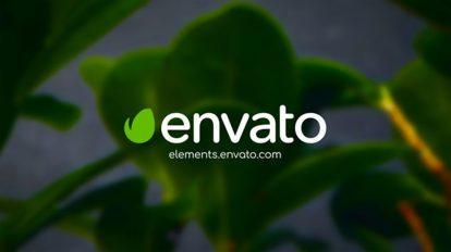 پروژه افترافکت نمایش لوگو Clean Green Logo