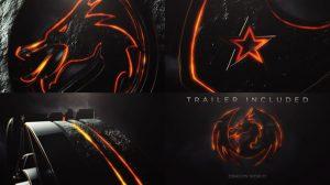 پروژه افترافکت نمایش لوگو و تریلر حماسی Dark Epic Logo Reveal and Trailer