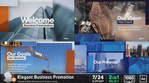 پروژه افترافکت پرزنتیشن شرکتی Corporate Business Presentation