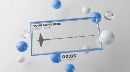 پروژه افترافکت ویژوالایزر موزیک Fresh Audio React Music Visualizer