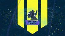 پروژه افترافکت نمایش لوگو با ترانزیشن گرانج Grunge Gaming Logo Transition