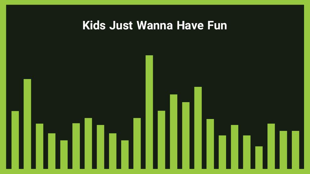 موزیک زمینه شاد Kids Just Wanna Have Fun