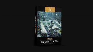 مجموعه مدل سه بعدی تجهیزات آزمایشگاهی Kitbash3D Secret Labs