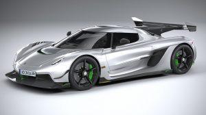 مدل سه بعدی خودرو Koenigsegg Jesko 2020