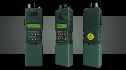 مدل سه بعدی واکی تاکی رادیویی L3Harris Falcon III Radio
