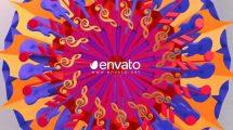 پروژه افترافکت نمایش لوگو با نت موسیقی Logo Reveal