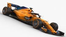 مدل سه بعدی خودرو مسابقه ای مک لارن F1 McLaren MCL33 2018