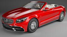 مدل سه بعدی خودرو مرسدس کوپه Mercedes Maybach Coupe Cabriolet 2020