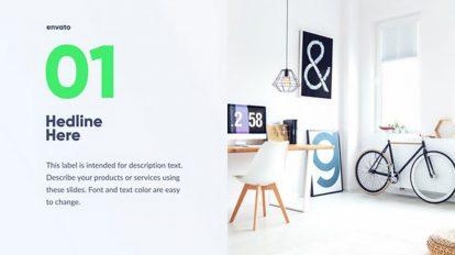 پروژه افترافکت پرزنتیشن شرکتی Minimal Corporate Video Pack
