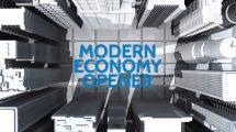 پروژه افترافکت افتتاحیه مدرن Modern Economy Opener