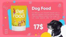 پروژه افترافکت تیزر تبلیغاتی محصولات حیوانات خانگی Pet Products Promo