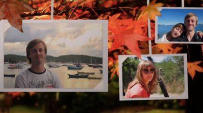 پروژه افترافکت گالری عکس پاییزی Photo Gallery On An Autumn Afternoon