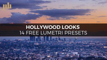 مجموعه پریست رنگ هالیوودی برای پریمیر Hollywood Lumetri Looks