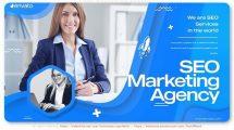 پروژه افترافکت تیزر تبلیغاتی مارکتینگ سئو SEO Marketing Agency