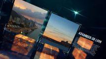 پروژه افترافکت اسلایدشو با مکعب The Cubes Slideshow