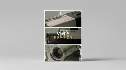 مجموعه فوتیج افکت نوار ویدیویی Tropic Colour VHS Effect
