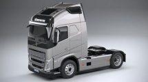 مدل سه بعدی ماشین سنگین ولوو Volvo FH 16 2020
