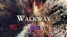 پروژه پریمیر نمایش عناوین Walkway Vintage Film Titles