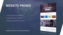 پروژه افترافکت پرزنتیشن وبسایت Website Presentation