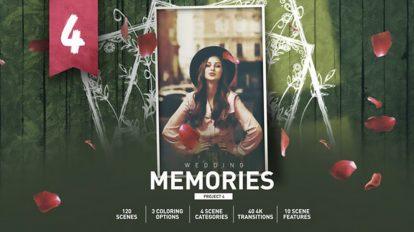 پروژه افترافکت اسلایدشو خاطرات Slideshow Memories